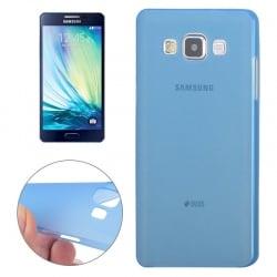 Samsung Galaxy A7 Σκληρή Θήκη Σιλικόνης Μπλε Hard Silicone Case Ultra Thin 0,3mm