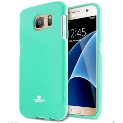 Samsung Galaxy S6 Edge Plus Θήκη Σιλικόνης Βεραμάν Goospery Silicone Jelly Case Mint
