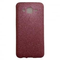 Samsung Galaxy J3 / J3 2016 Θήκη Σιλικόνης Ροζ Με Glitter Silicone Case Pink With Glitter