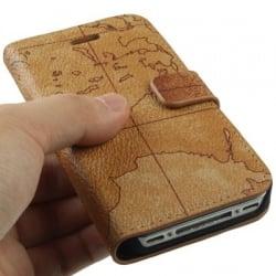 iPhone 4 / 4s Θήκη Βιβλίο Πάμε Ταξίδι Book Case