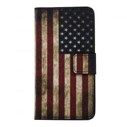 Huawei P9 Lite Θήκη Βιβλίo Η Σημαία Της Αμερικής Book Case