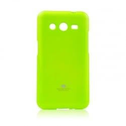 Samsung Galaxy Core 2 Θήκη Σιλικόνης Λαχανί Goospery Silicone Jelly Case Lime