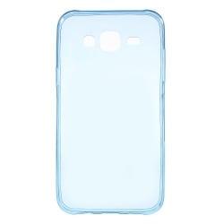 Microsoft Lumia 535 Θήκη Σιλικόνης Μπλέ Silicone Case Ultra Slim 0.3 mm Transparent Blue