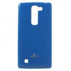 LG K10 Θήκη Σιλικόνης Μπλέ Goospery Silicone Jelly Case Blue