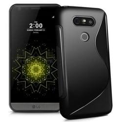 LG G5 Θήκη Σιλικόνης Μαύρη / Silicone S Case Black