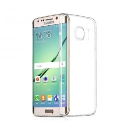 Samsung Galaxy S6 Edge Plus Θήκη Σιλικόνης Διάφανη Silicone Case Ultra Slim 0,3 mm