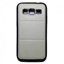 Samsung Galaxy ACE 4 Θήκη Σιλικόνης Λευκή / Silicone Briko Case White