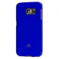 Samsung Galaxy S6 Edge Θήκη Σιλικόνης Μπλέ Goospery Silicone Jelly Case Blue