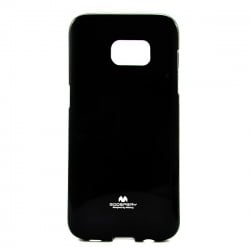 Samsung Galaxy S6 Edge Plus Θήκη Σιλικόνης Μαύρη Goospery Silicone Jelly Case Black