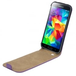 Samsung Galaxy Core Plus Θήκη Βιβλίο Μωβ Flip Book Case Purple