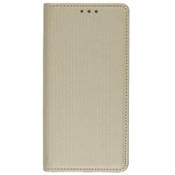 Huawei P8 Lite Θήκη Βιβλίο Χρυσό Book Case Smart Magnet Telone Gold