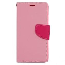 Samsung Galaxy J1 2016 Θήκη Βιβλίο Ροζ Fancy Book Case Telone Pink