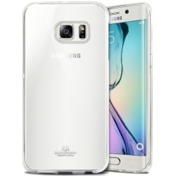 Samsung Galaxy S6 Edge Θήκη Σιλικόνης Διάφανη Silicone Jelly Case Goospery Transparent