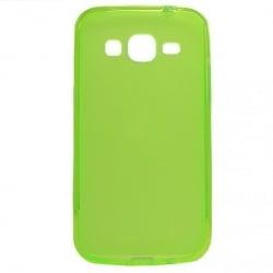 Samsung Galaxy Core Prime Θήκη Σιλικόνης Λεμονί Silicone Case Ultra Slim 0.3 mm Lime
