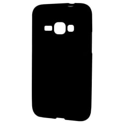 Samsung Galaxy J1 2016 Θήκη Σιλικόνης Μαύρη Ultra Shine Silicone Case Black