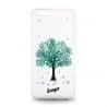 Samsung Galaxy J3 / J3 2016 Θήκη Σιλικόνης Όμορφο Δεντράκι Βεραμάν Beeyo Silicone Case Tree Mint