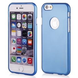 iPhone 7 Θήκη Σιλικόνης Μπλέ Goospery Silicone iJelly Case Blue