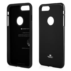 iPhone 7 Plus Θήκη Σιλικόνης Μαύρη Goospery Silicone Jelly Case Black