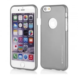 iPhone 7 Plus Θήκη Σιλικόνης Γκρι Goospery Silicone iJelly Case Grey