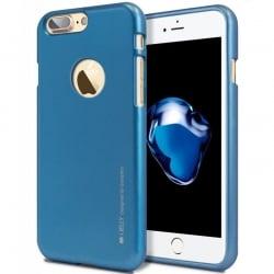 iPhone 7 Plus Goospery iJelly Case Θήκη Σιλικόνης Μπλε Silicone Case Blue