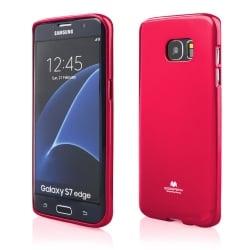 Samsung Galaxy S7 Edge Θήκη Σιλικόνης Φούξια Goospery Silicone Jelly Case Hotpink