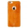 iPhone 6 / 6s Θήκη Σιλικόνης Πορτοκαλί Με Νερά Jade Silicone Case Baseus Orange