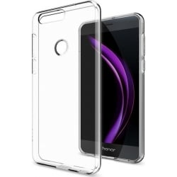 Honor 8 Θήκη Σιλικόνης Διάφανη Silicone Case Ultra Slim 0.3 mm Transparent