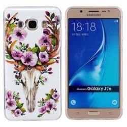 Samsung Galaxy J7 2016 Θήκη Σιλικόνης Ανθισμένα Λουλούδια Silicone Case