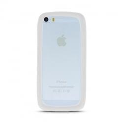 3,5'' - 5,0''  Universal Θήκη Σιλικόνης Λευκή Bumper Silicone Case White