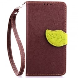 Microsoft Lumia 535 Δερμάτινη Θήκη Βιβλίο Καφέ Magnetic Snap Leather Book Case Brown