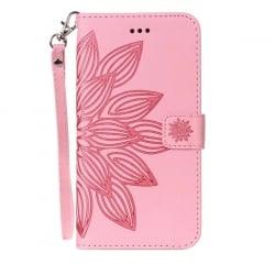 Huawei P9 Lite Θήκη Βιβλίo Ροζ Όμορφο Σχέδιο Book Case Pink