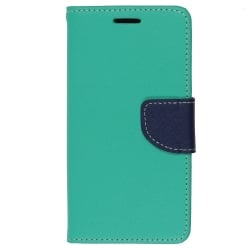 Sony Xperia E4g Θήκη Βιβλίο Βεραμάν - Μπλέ Fancy Book Case Telone Mint - Navy