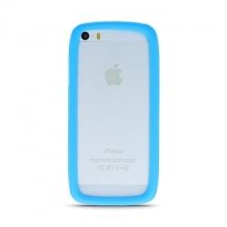 3,5'' - 5,0'' Universal Θήκη Σιλικόνης Μπλε Bumper Silicone Case Blue