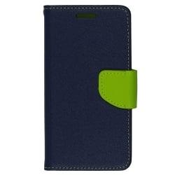 LG X Screen Θήκη Βιβλίο Μπλε Fancy Book Case Telone Blue