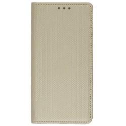Samsung Galaxy S7 Edge Θήκη Βιβλίο Χρύσο Book Case Smart Magnet Telone Gold