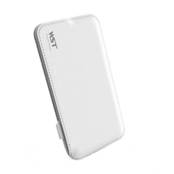 Power Bank 4.000 mAh Με Δέρμα WST DP520 PowerBank White
