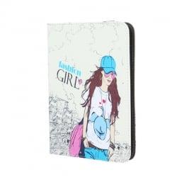 Universal θήκη Tablet 10'' Μοδάτο Κορίτσι Fashion Tablet Case