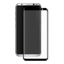 Samsung Galaxy S8 Εμπρός και Πλάγια Full Screen Μαύρο Προστατευτικό Τζαμάκι Tempered Glass Black