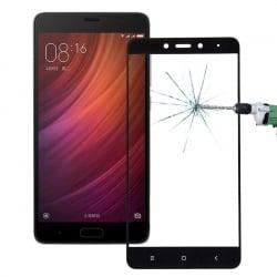 Xiaomi Redmi Note 4 Εμπρός - Πλάγια Full Screen Μαύρο ENKAY Προστατευτικό Τζαμάκι Tempered Glass Black