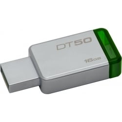 USB Flash Drive 16GB Kingston DataTraveler 50 Metal Green DT50 16GB
