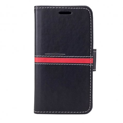 Samsung Galaxy A5 2017 Θήκη Βιβλίο Μαύρο Red Line Book Case Black