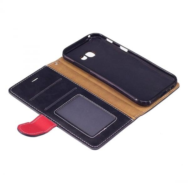 804472ed2c Samsung Galaxy A5 2017 Θήκη Βιβλίο Μαύρο Red Line Book Case Black