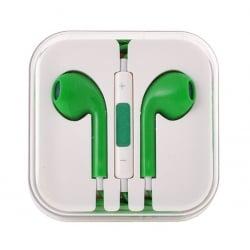 Earpods Ακουστικά HandsFree Κινητού Πράσινο HF Son Mega Bass Green