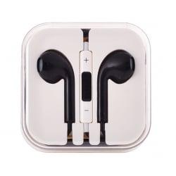 Earpods Ακουστικά HandsFree D5 Κινητού Μαύρο HF Black