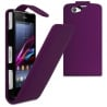 Sony Xperia Z1 Mini Θήκη Βιβλίο Μωβ Flip Book Case Purple