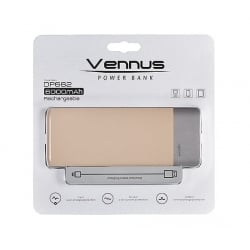 Power Bank 6000 mAh VENUS dp662 Μπεζ