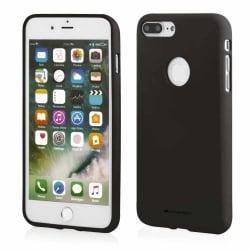 Huawei P10 Lite Θήκη Σιλικόνης Μαύρη Goospery Soft Feeling Silicone Case Black
