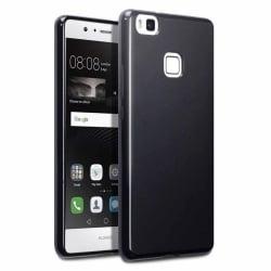 Huawei P10 Lite Θήκη Σιλικόνης Μαύρη Matt Silicone Case Black