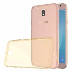 Samsung Galaxy J5 2017 Nillkin Θήκη Σιλικόνης Χρυσή Nature TPU Case 0.6 mm Gold