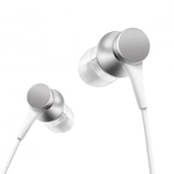 Original Xiaomi Piston Γνήσια In-Ear Stereo Earphone with Wire Control + Mic, Support Answering and Rejecting Call Silver
